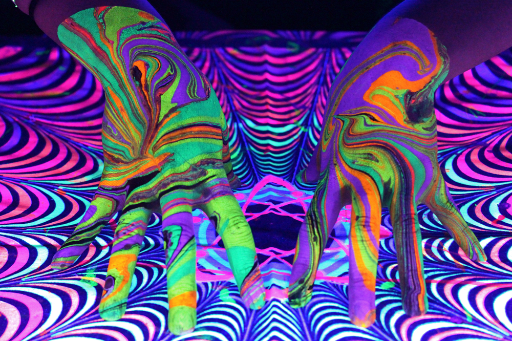 Cirque de Womp Detroit Body Marbling