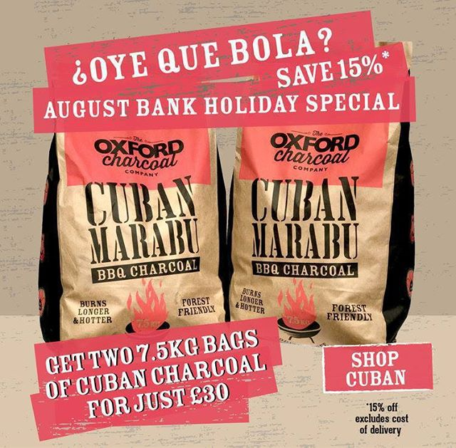 Cuban Marabu Charcoal FLASH SALE - TWO 7.5kg BAGS FOR £30 OUR CUBAN MARABU CHARCOAL IS SO POPULAR WE ARE EXTENDING THIS OFFER TO 31st SEPT 2018