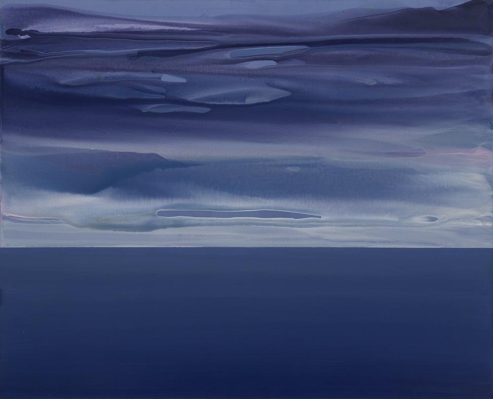 horizon_01  acrylic on canvas  162 cm X 130 cm  2013