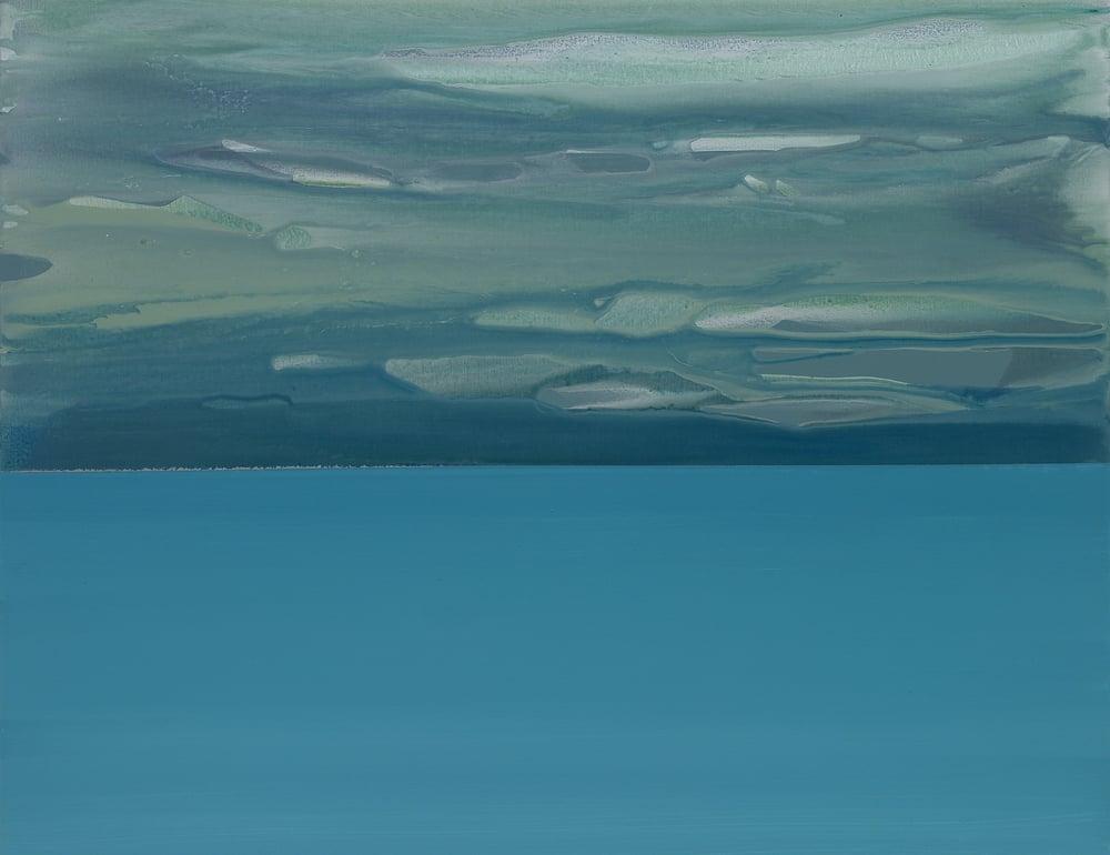 horizon_04  acrylic on canvas  117 cm X 92 cm  2013