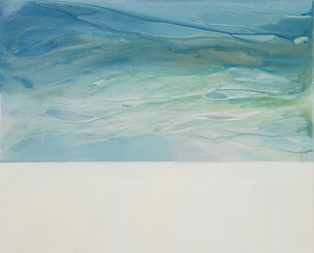 horizon_02  acrylic on canvas  162 cm X 130 cm  2013
