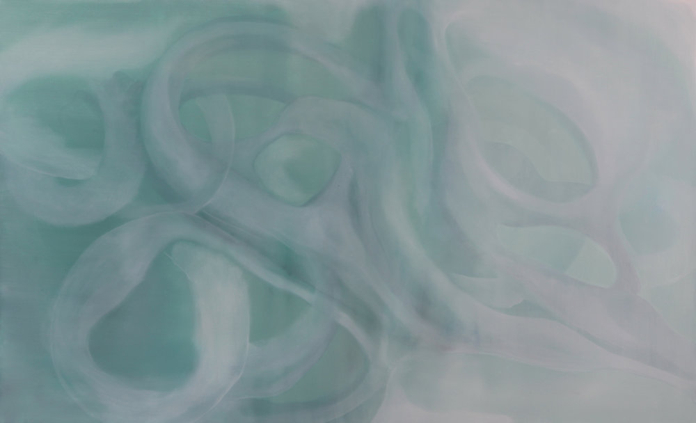 entanglement_09  oil on canvas  130 X 81 cm  2016