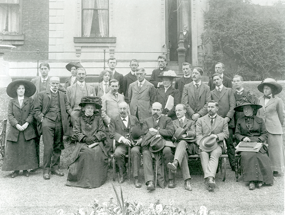Professors and Students of the School of Irish Learning, by permission of the Royal Irish Academy.