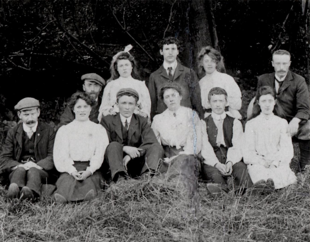 Back Row:  Nancy Wyse Power (2nd from left)