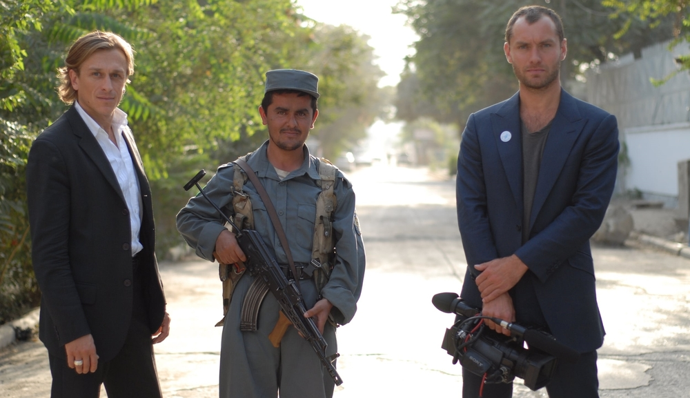Jeremy Gilley and Jude Law Afghanistan.JPG