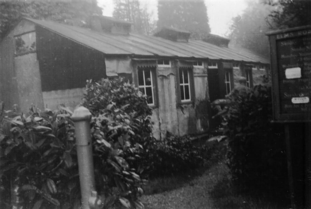 Original Building 1910 'Boer War Officer Mess Hut'
