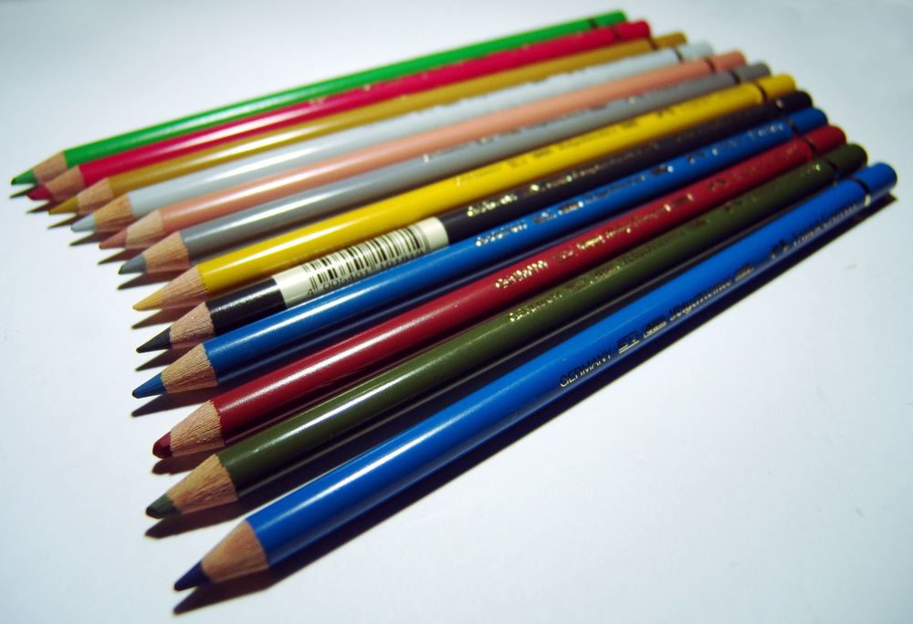 Faber-Castell pencils. By btr, CC BY-SA 2.5, via Wikimedia Commons