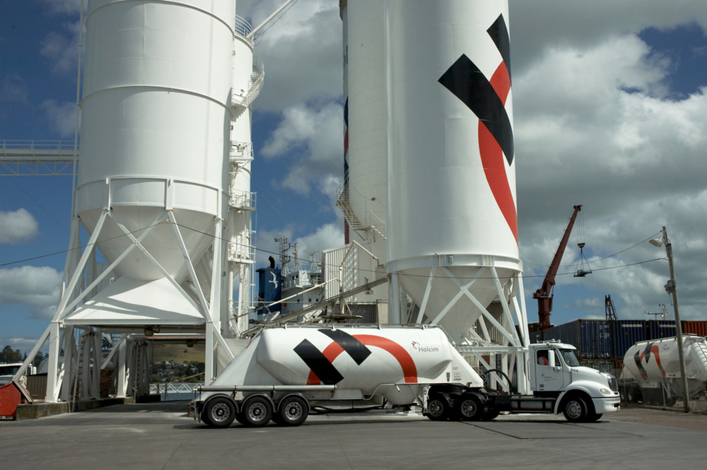 A Holcim facility in New Zealand. Image: Holcim.