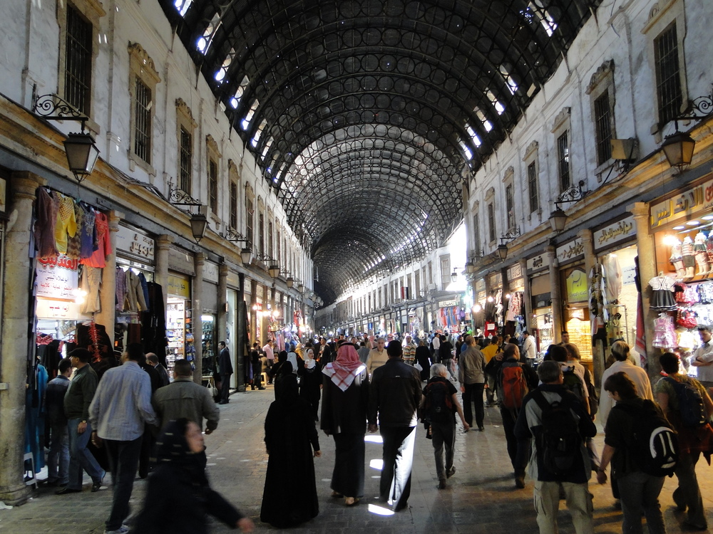 The Al-Hamidiyah Souq, Damascus, Syria. Do they do things differently there? Image: Bernard Gagnon/Wikimedia.