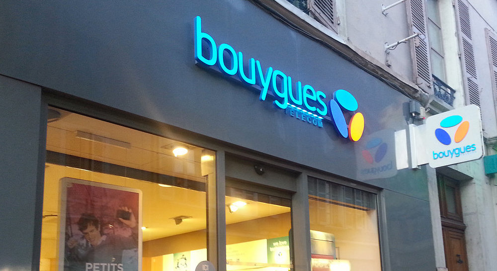 A Bouygues store in France. Image by Laurent Grassin via Flickr. License: CC BY 2.0