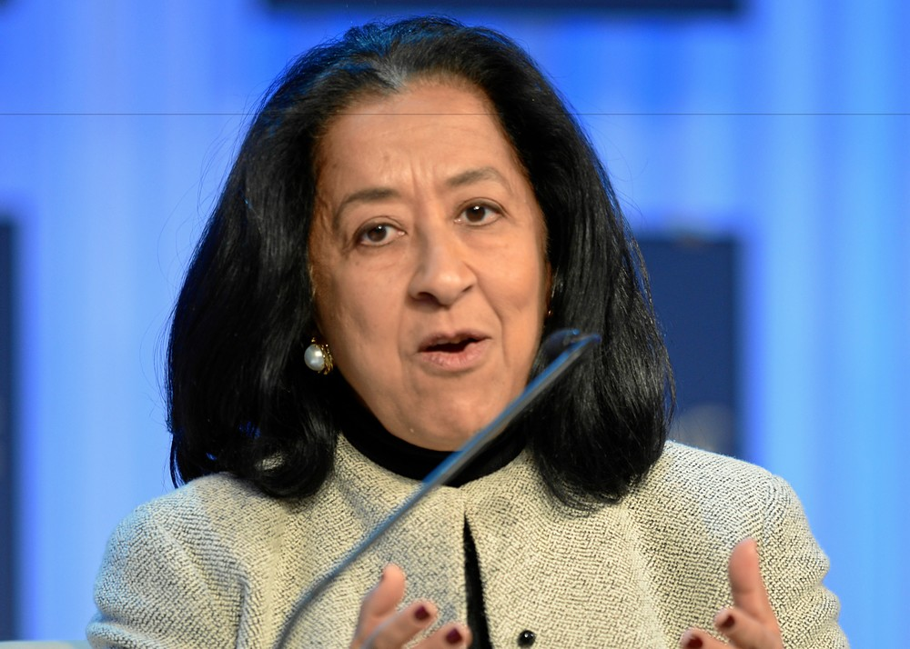 Lubna Olayan, proving that women can make it in Saudi Arabia. Copyright World Economic Forum. swiss-image.ch/Photo Michael Wuertenberg.
