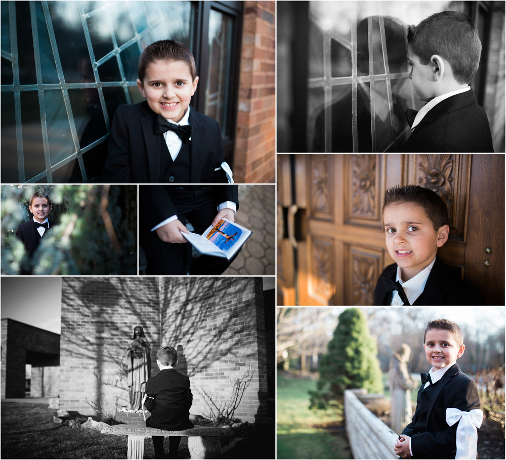 Long Island Communion Portrait Session