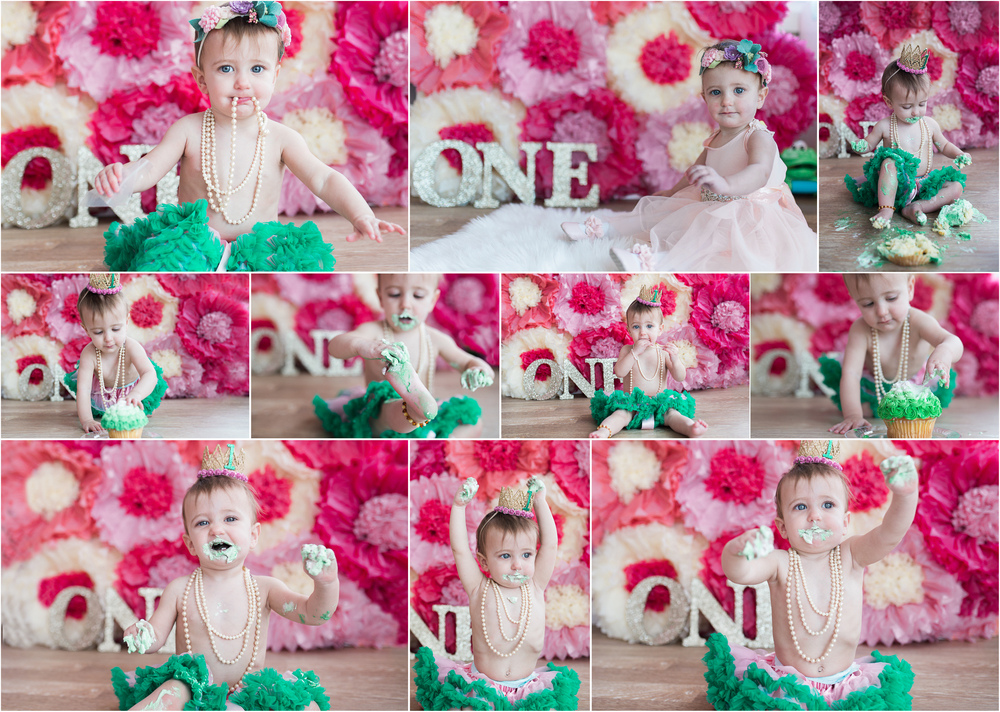 Long Island children's photography First Birthday Cake Smash