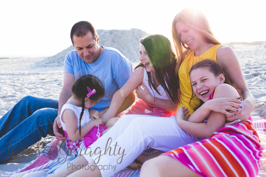 Long Island Beach Family Session
