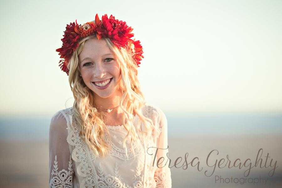 Long Island Senior Boho Session