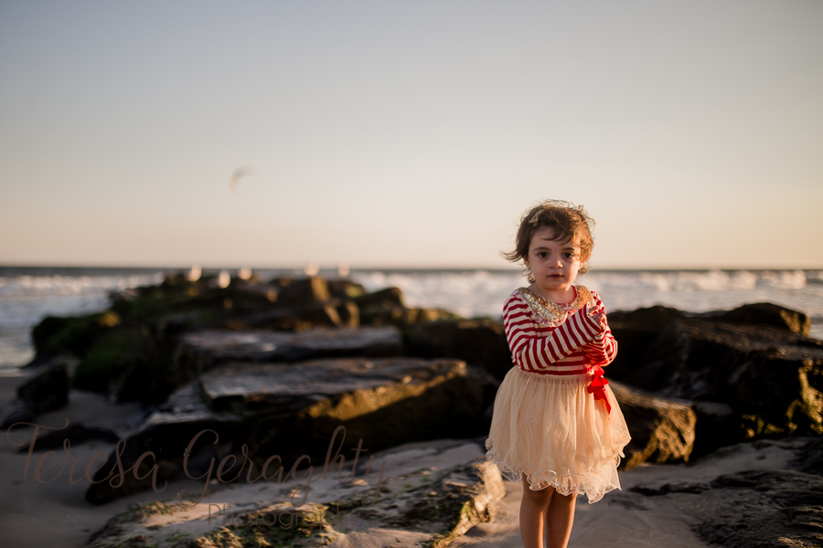 Children's Beach Mini Session in Nassau County