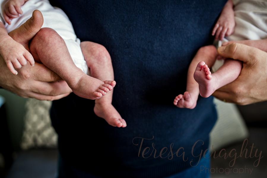 Newborn photographer in the home