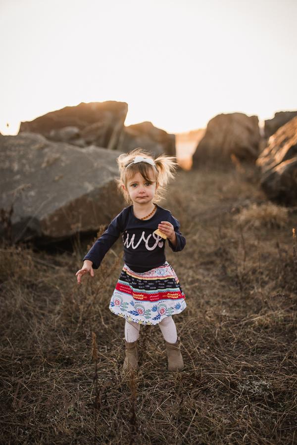 Outdoor Second Birthday Photos for children nassau county