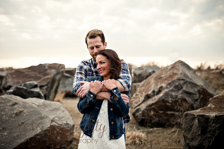 Rustic Long Island Engagement Session