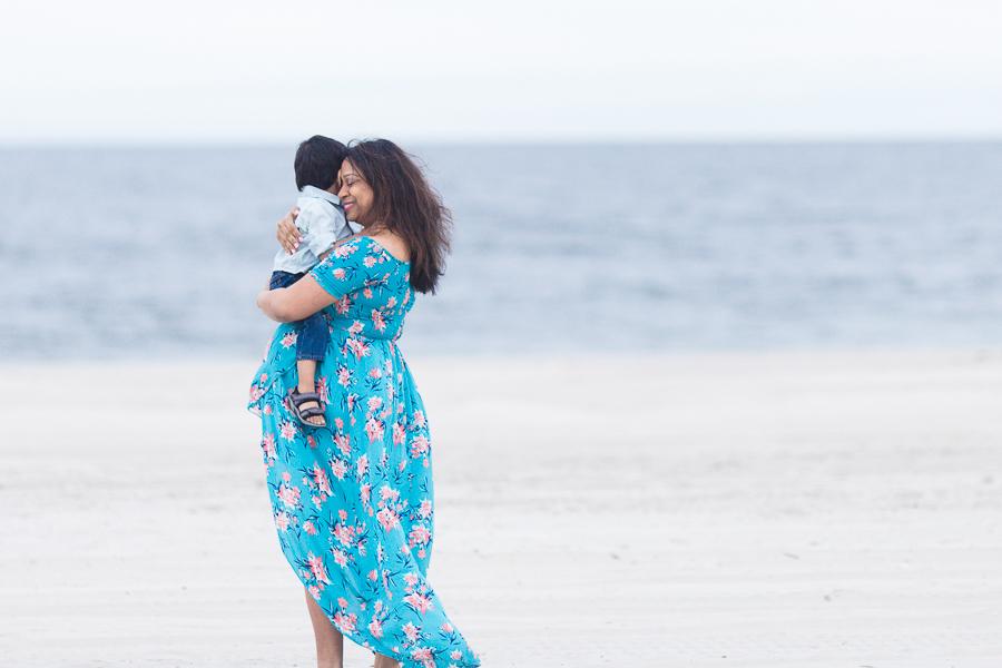 Long Island beach Maternity photographer