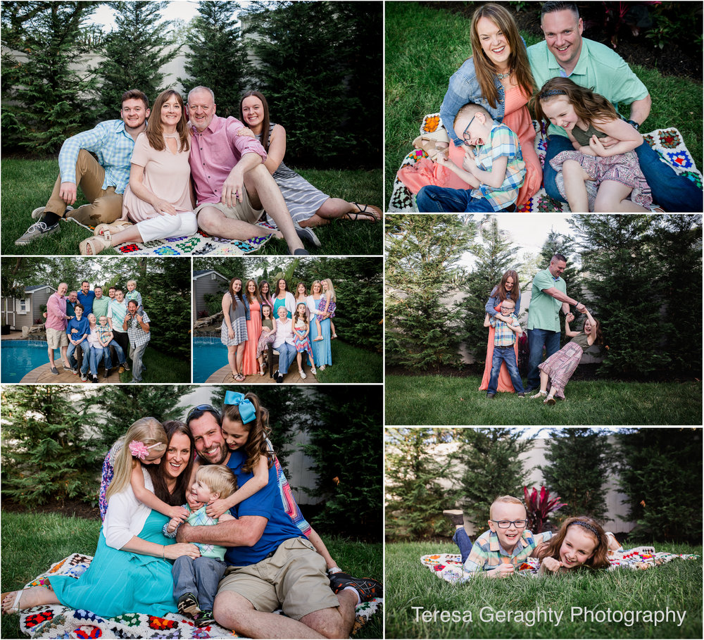 family photographer for group photos in nassau county