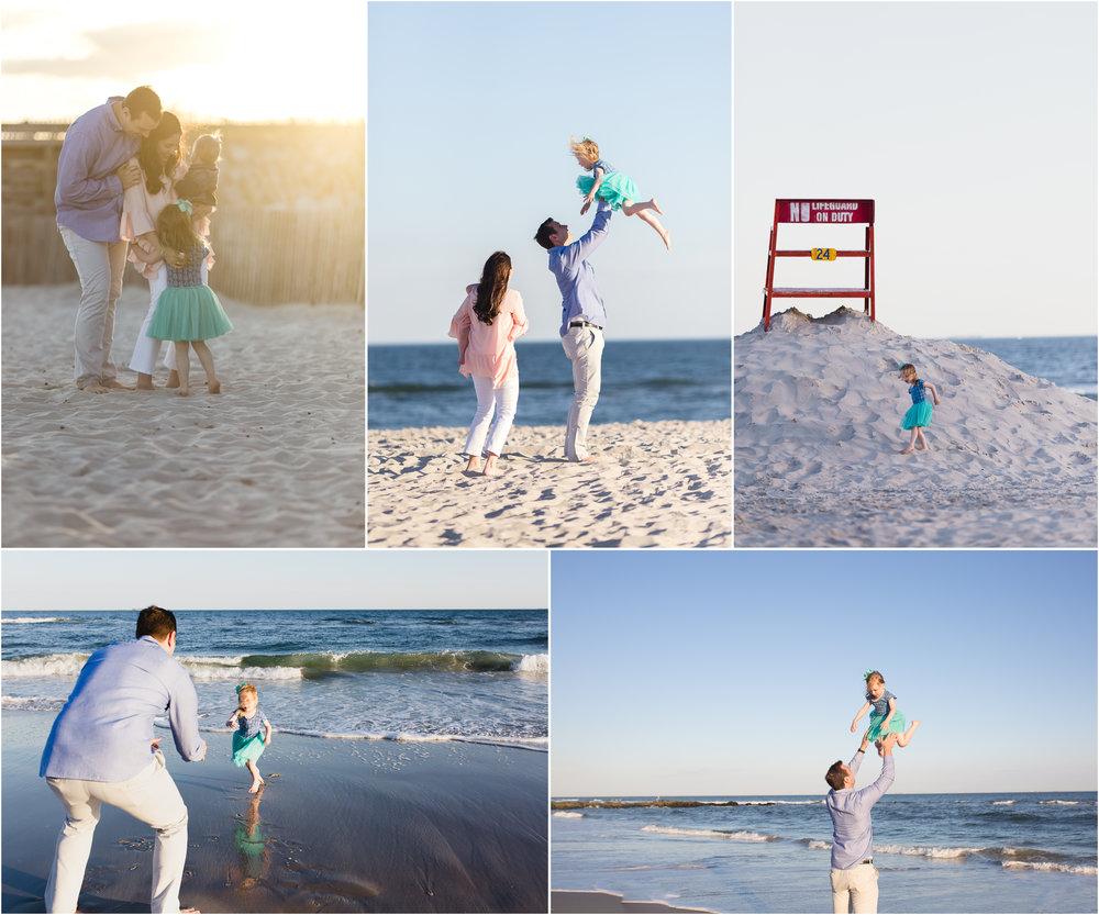 Family beach photographer in Nassau County