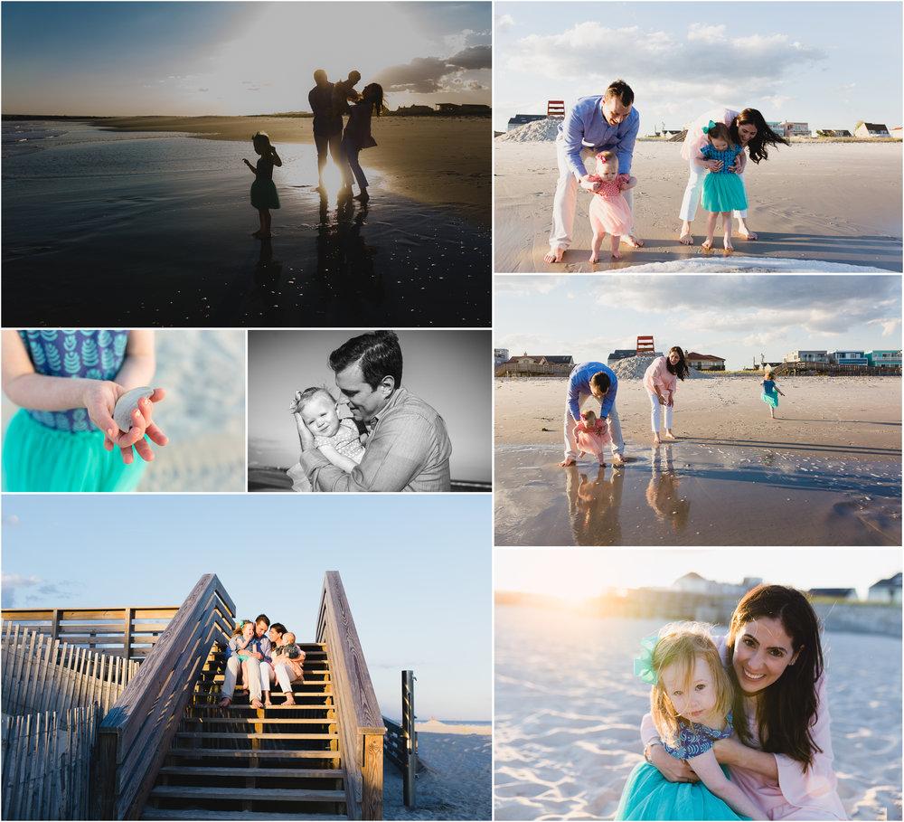 Long Beach, Ny sunset family photographer
