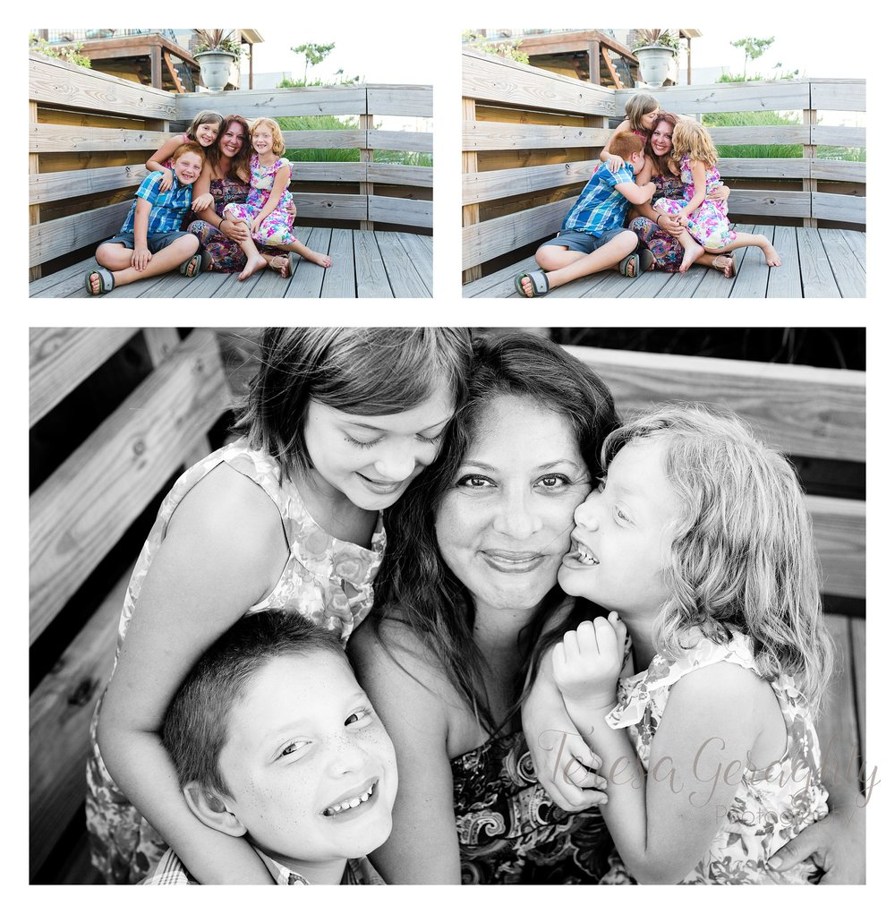 Mother and child family session