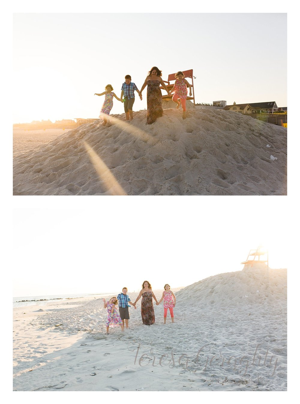 Family sunset photographer on long island