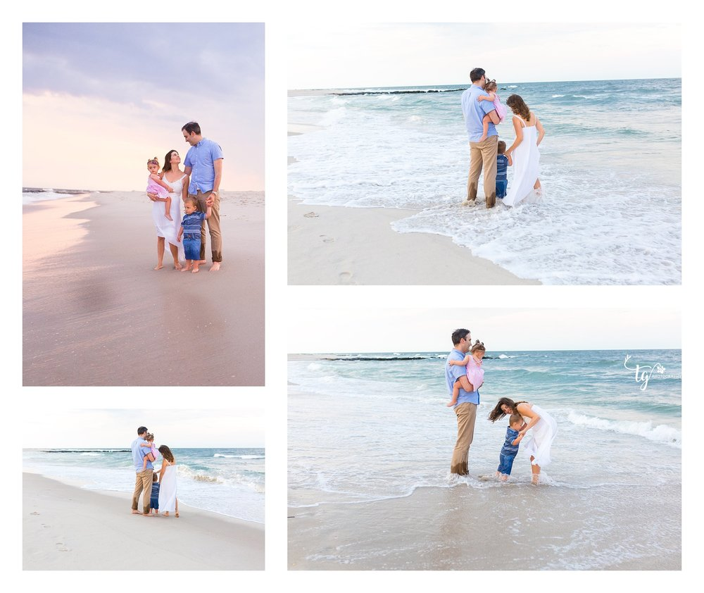 Long island family beach photographer