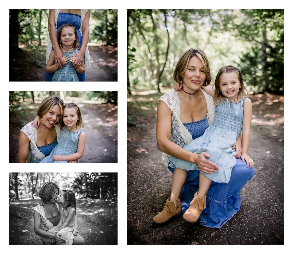 natural and emotive mother and daughter photography
