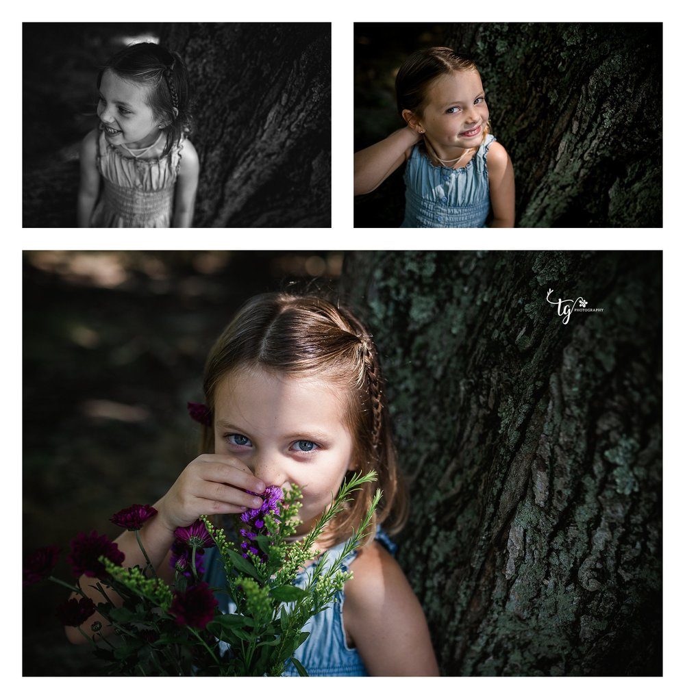 natural and authentic children's birthday photos