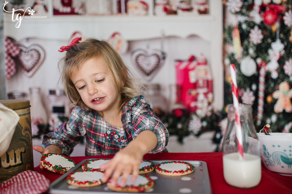 stress free children's holiday session