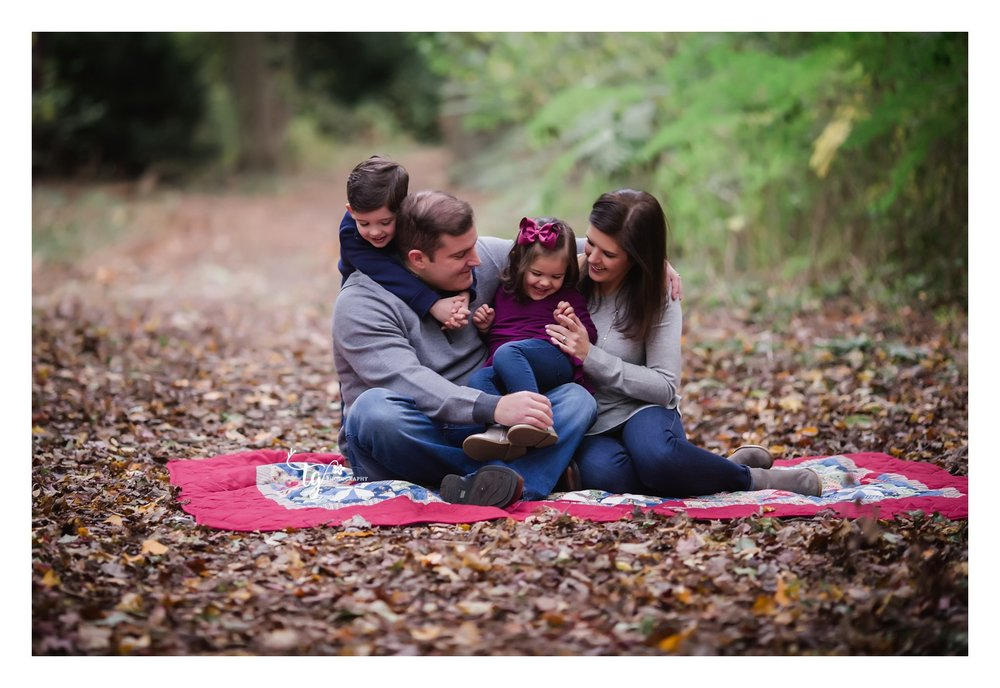 Emotive family portraits