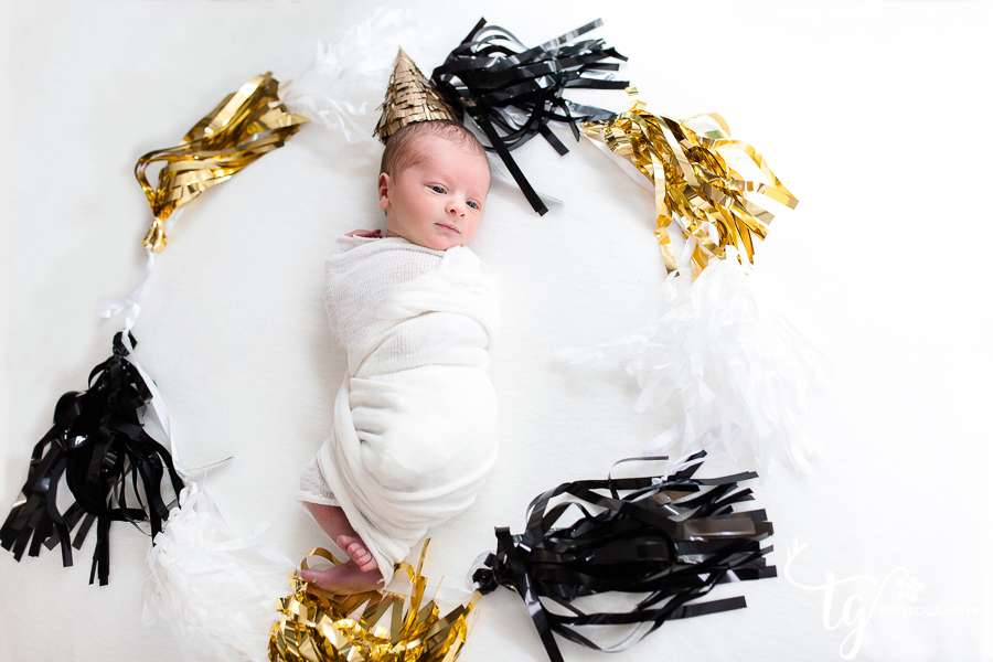 trendy newborn photography