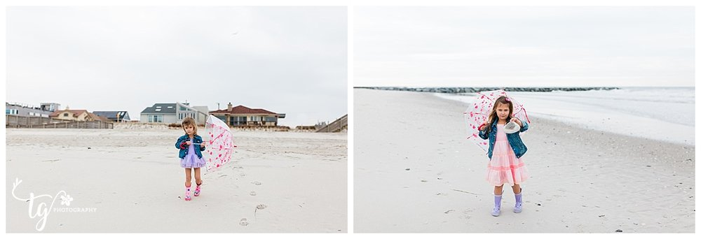 Children's beach mini session