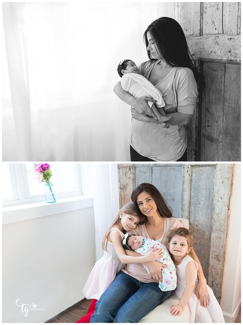 family studio newborn photoghrapher