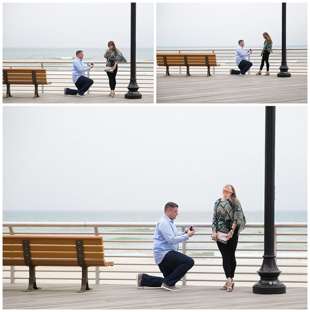 Long Island surprise engagement