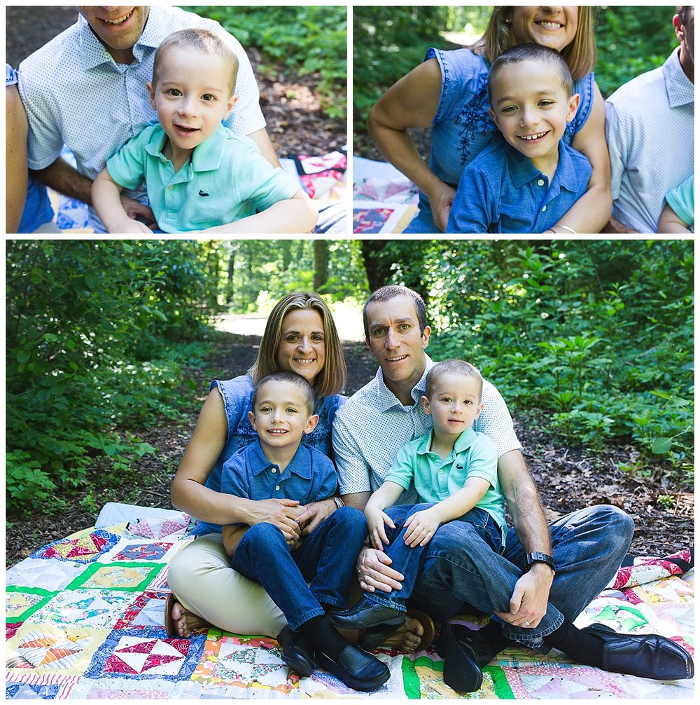 candid and natural family photography