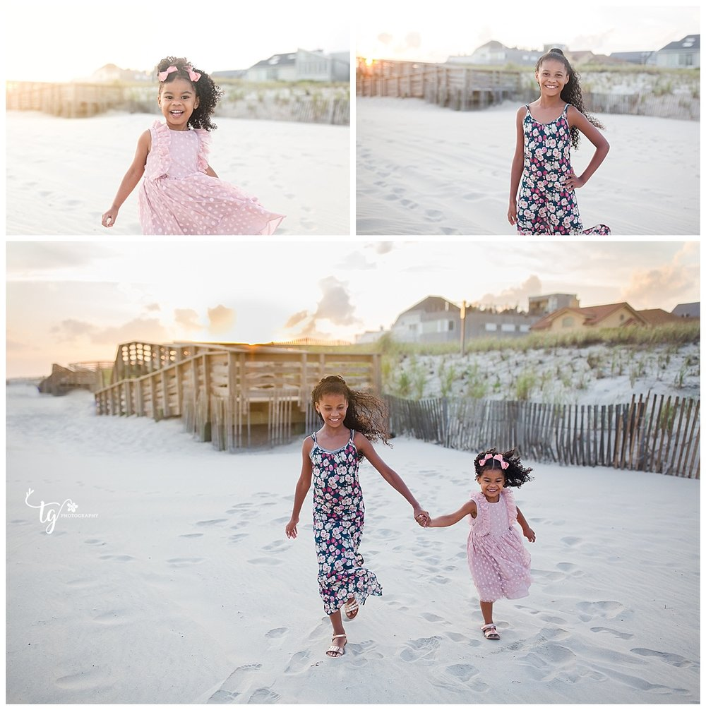 Beach photographer for children's photos