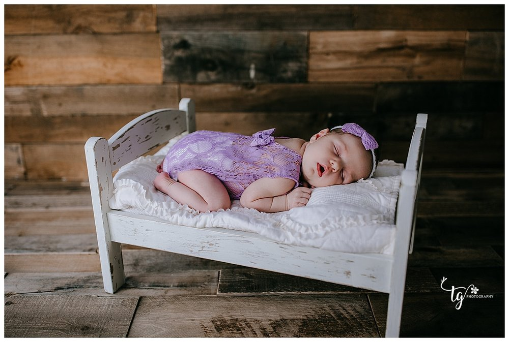 classic studio newborn photography