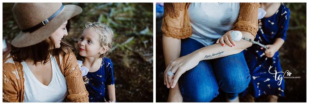 boho camping holiday mini session