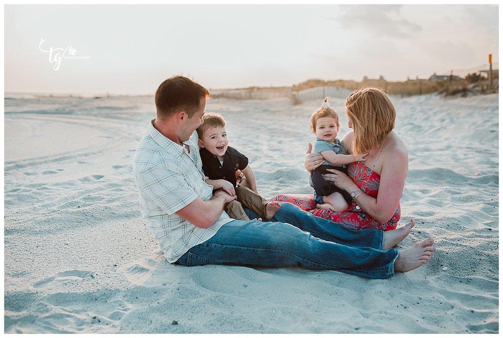 beach family phtoos