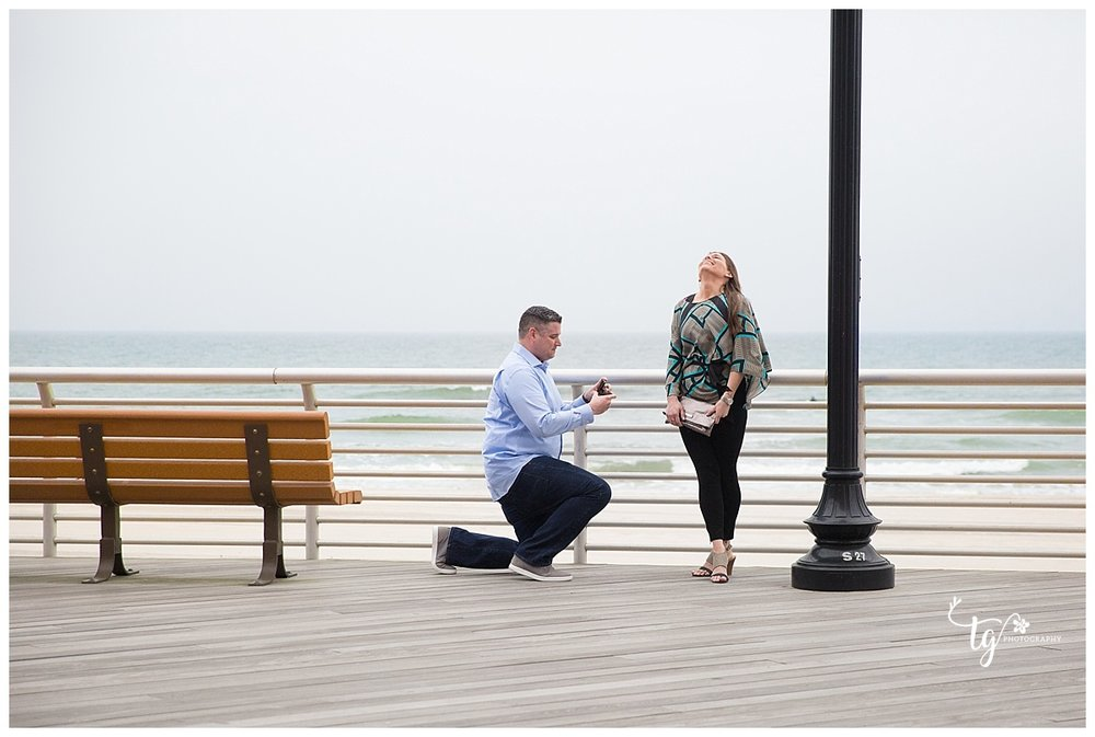 Long Island surprise proposal photographer