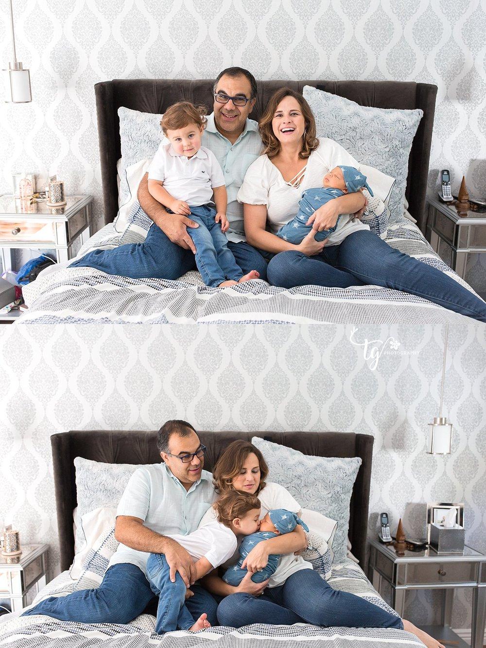 family newborn sessions