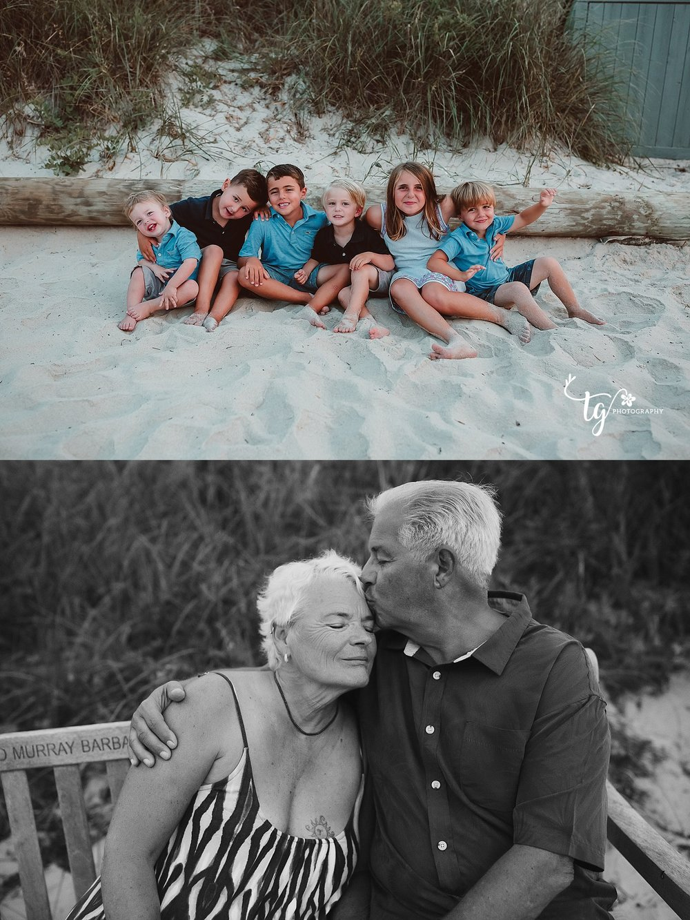 grandparents photography session