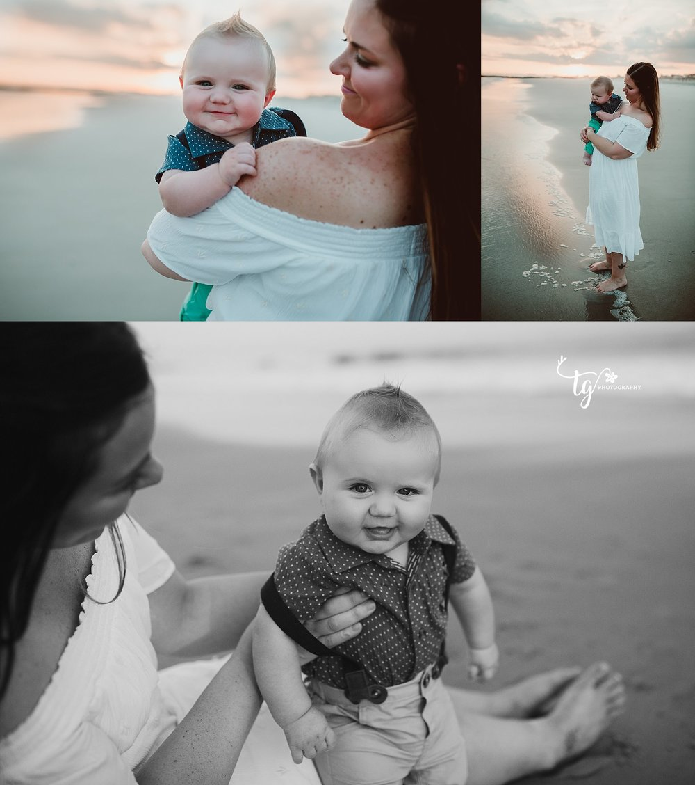 beach family photographer