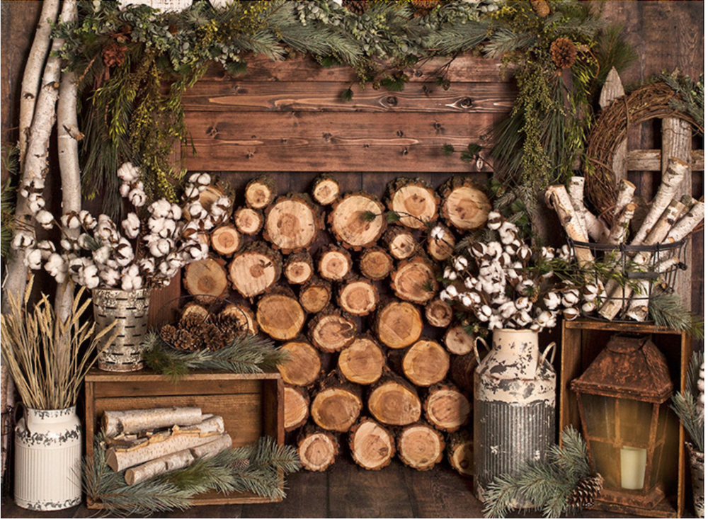 Rustic Indoor Holiday Set for Holiday Season 2018