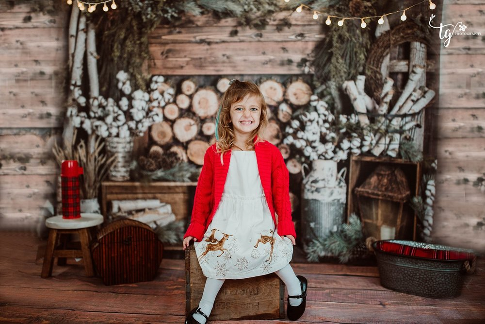 children's holiday mini sessions