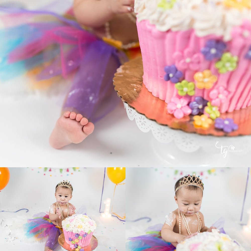 affordable studio birthday photos